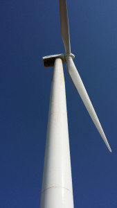 Turbine  Blade Cleaning by FairWind Renewable Energy Services, llc before image