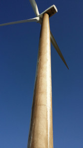 Turbine  Blade Cleaning by FairWind Renewable Energy Services, llc