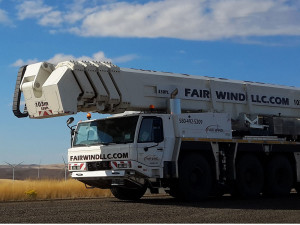 Palfinger WT-1000 from Fair Wind Renewable Energy Service, LLC image